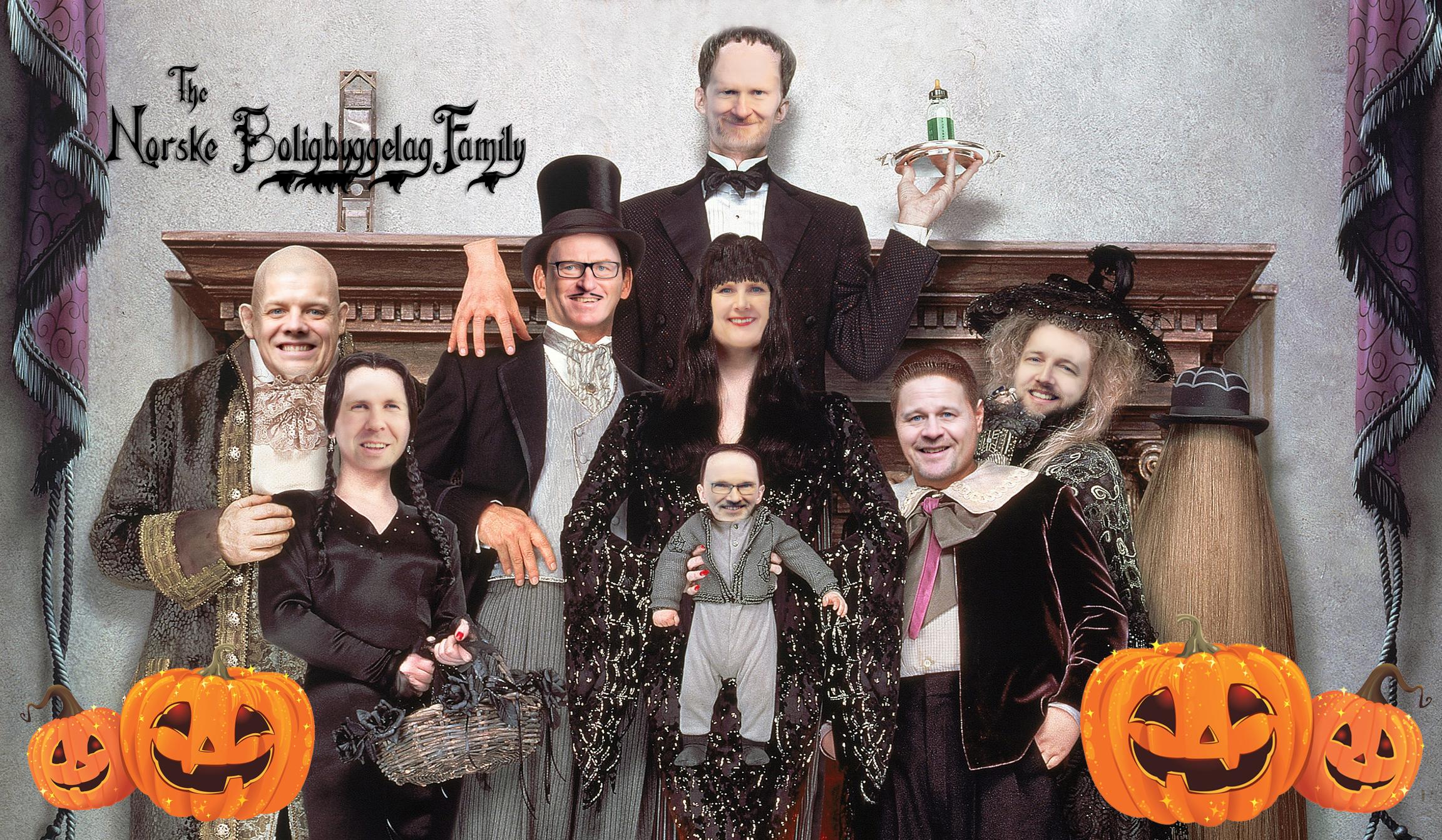 Seks skremmende bolig-grafer på Halloween